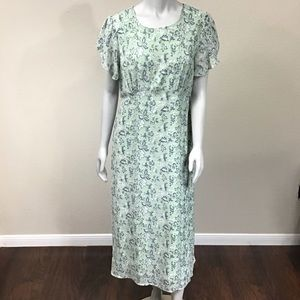 NWT   Suzanne Betro Midi Dress